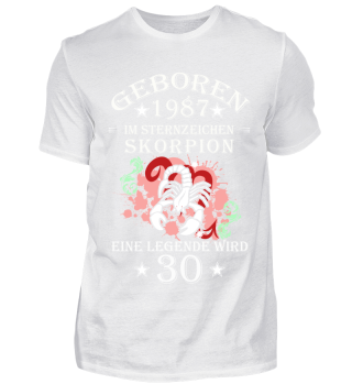 Sternzeichen Skorpion wird 30