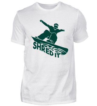 Snowboarding - Shred It