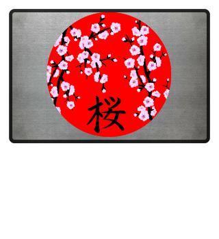 ♥ Cherry Blossom Kanji SAKURA 9
