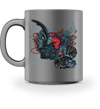 Chabo schwarz 1,1 hell becher mug