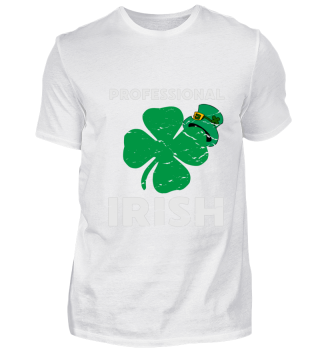 Professional Irish Shamrock Shirt