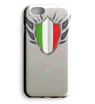 Italien-Italy Wappen Flagge 013