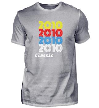 Jahrgang 2010 Design - Vintage 2010