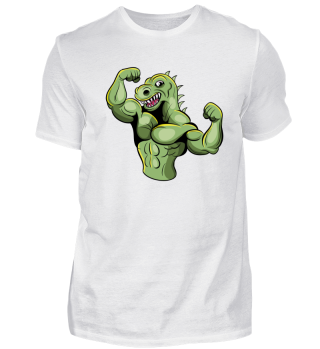 Muscle T-Rex - Dinosaur Fitness Gym