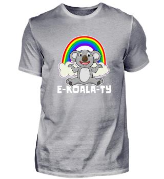 Koala E-Koala-Ty Rainbow Equal LGBT Bear