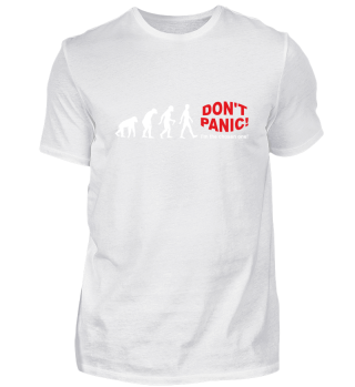 Evolution Of Humans - DON'T PANIC II