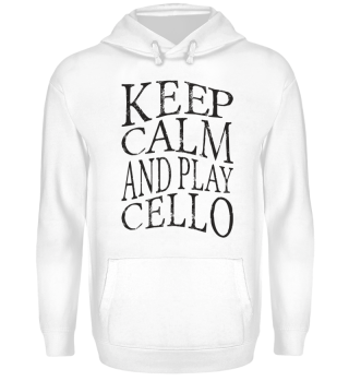 ★ KEEP CALM And Play Cello Grunge 1