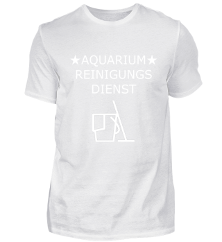 Aquariumreinigungsdienst
