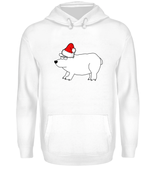 Christmas Polar Bear Weihnachten Eisbär