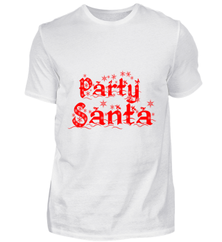 GIFT- PARTY SANTA RED