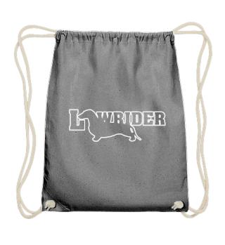Dachshund - Lowrider - weiss 2