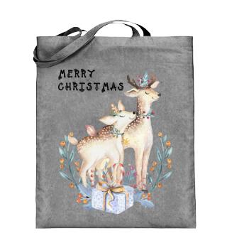 ☛ MERRY CHRISTMAS · DEER #9D