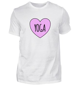 Yoga Heart i love Yoga