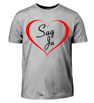 Kind T-Shirt Heiratsantrag Geschenk