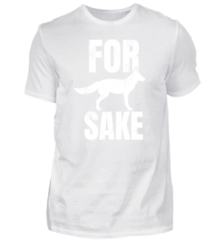 For Fox Fucks Sake Wild Animal Pun Gift