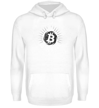 Bitcoin to the Moon - Hoodie Geschenk