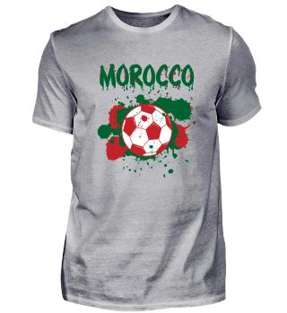 Marokko Meister Fußball Fussball Shirt Fan Geschenk