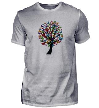 Schmetterling Garten Shirt Geschenk