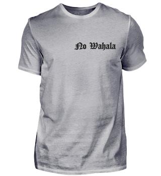 Tshirt - No-Wahala-black-text