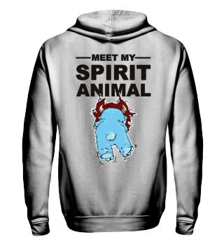 Meet Spirit Animal - monster - black