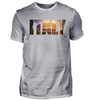 Italy Rome Italian Lover T Shirt Gift