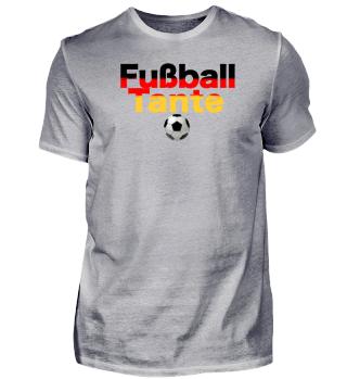 Fussball Tante Deutschland Fanshirt 2018