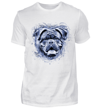 blaue Bordeaux Dogge