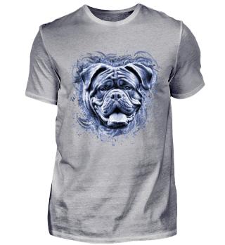 blaue Bordeaux Dogge