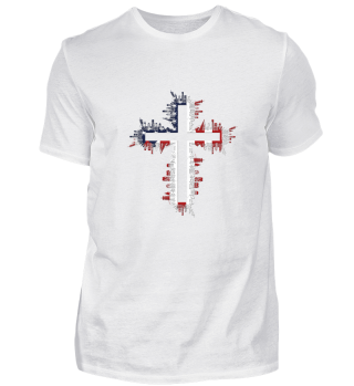 4th of July T Shirt American Flag Gifts