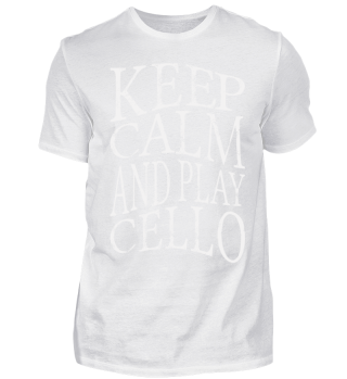 ♥ KEEP CALM And Play Cello Grunge 2