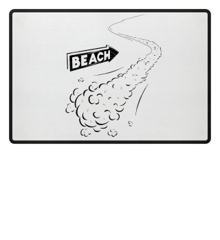 Beach Holiday Surfing Chilling Cool Gift