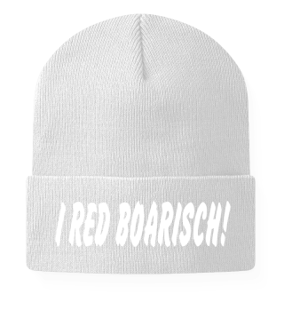I RED BOARISCH!