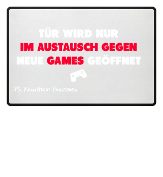 Im Austausch gegen Neue Games geöffnet