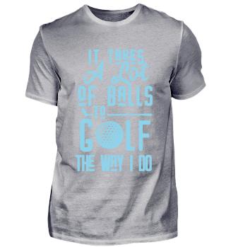 Golf Golfer Golferin spielen Trainer Club Cool Lustig Witzig Spruch Geschenk