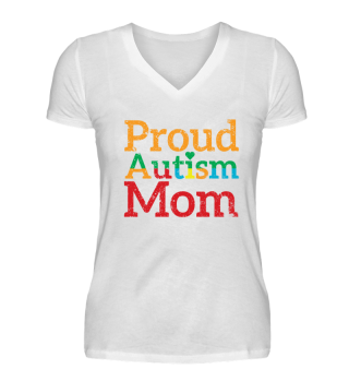proud mom autism shirt