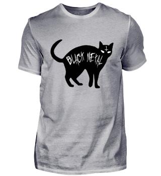 Black Metal Cat - Black Metal Shirt
