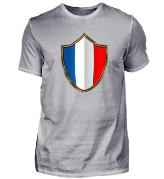 Frankreich-France Wappen Flagge 016
