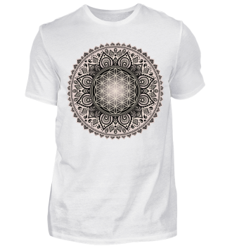 ♥ FLOWER OF LIFE - Folklore Mandala III