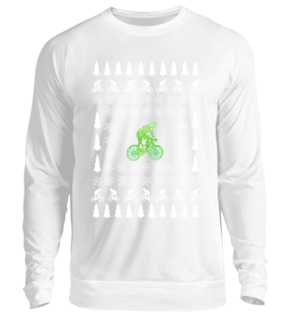 Ugly Christmas Biker Sweater