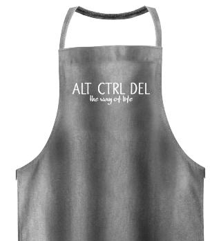 ALT CTRL DEL - the way of life - white