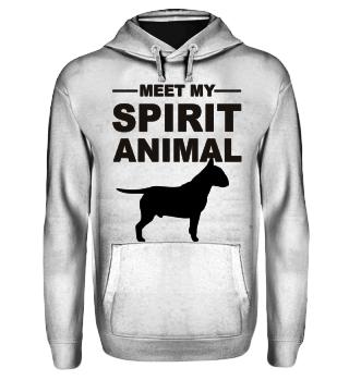Meet Spirit Animal - bullterrier - black