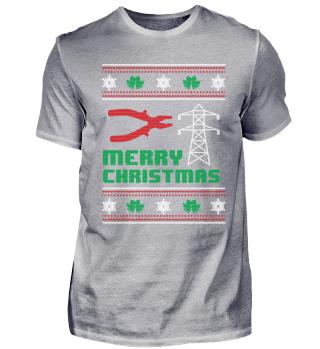 Funny Technician Shirt Merry Christmas