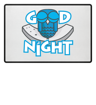 Good Night Night Owl close eyes relax