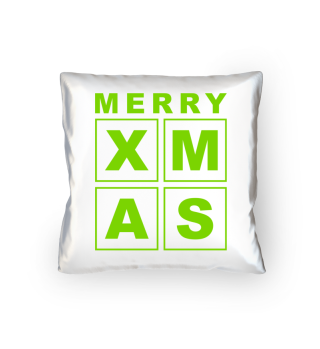Stylish Square Frame - XMAS - green