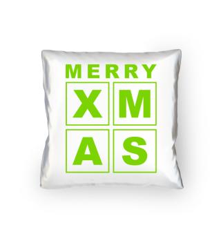 Stylish Square Frame - XMAS - green