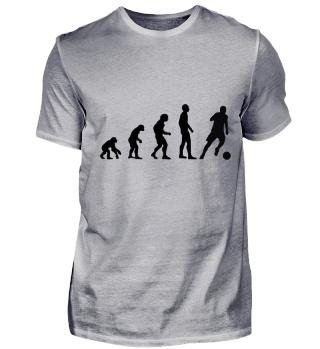 Evolution - Fußballspieler- Fußball