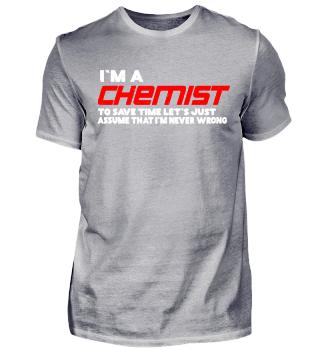 Chemist Tshirt Present Birthday Xmas