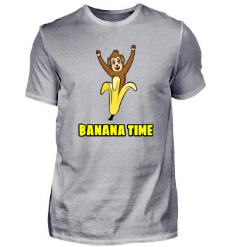 Affe und Banane