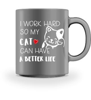 Funny Mug Cat Gift Cats Love Kitty