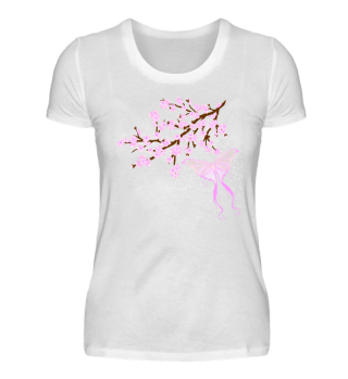 ♥ Cherry Blossom - Branch Butterfly 1